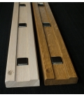 Obvodová lišta dubová 150cm -zrcdlový čtvereček