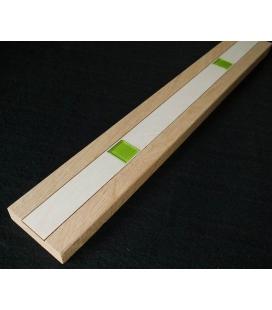 Rámečková a obvodová lišta - dub masiv