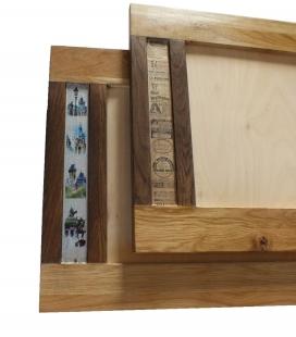 Nástěnný dubový rámeček