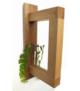 Nástěnný dubový 3D rámeček