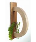 Nástěnný obloukový dubový 3D rámeček