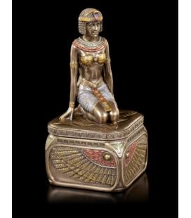 Šperkovnice s kleopatrou ve stylu secese
