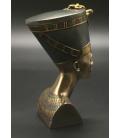 Šperkovnice/box - busta královny Nefertiti