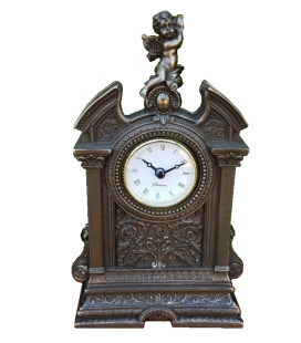 Barokní hodiny s andělíčkem