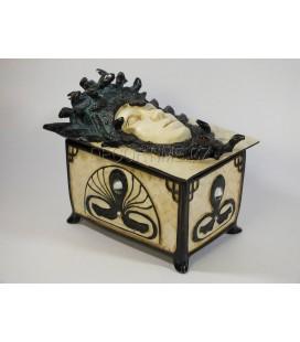 Šperkovnice s Medusou Gorgonou