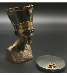 Šperkovnice/box s bustou královny Nefertiti