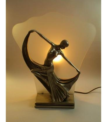 Secesní lampička - osvětlená tanečnice