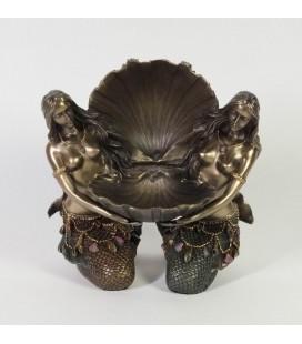 Secesní šperkovnice - mořské panny