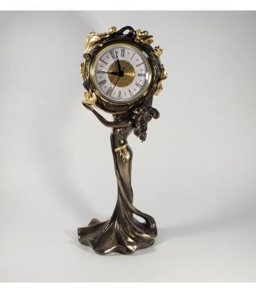 secesní romantické hodiny
